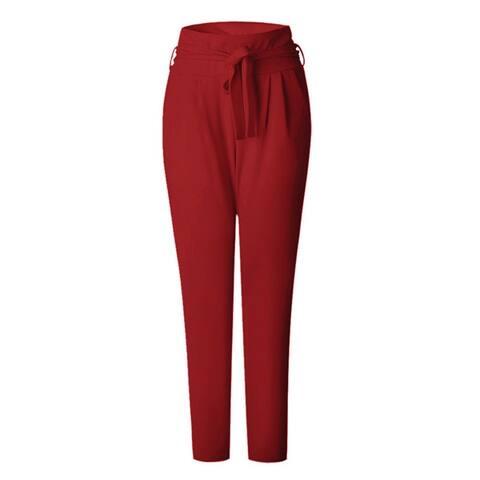 Women's Waistband Elasticated Harlan Trousers