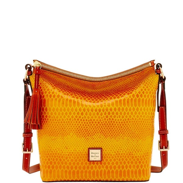 Dooney & Bourke Snake Small Dixon (Introduced by Dooney & Bourke at $268 in Nov 2016) - Yellow