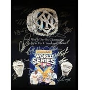 Signed Yankees New York 2009 World Series Champions 11x14 By the 2009 Wold Series Champions Team au