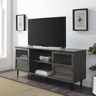 Link to Carson Carrington Jularbo 2-door Split Panel TV Console Similar Items in TV Consoles