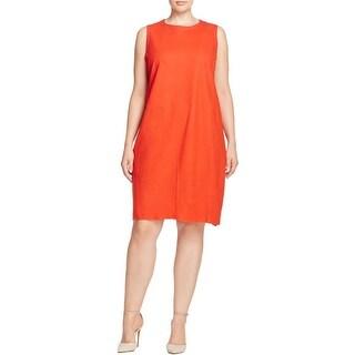 Eileen Fisher Womens Plus Party Dress Wool Sleeveless