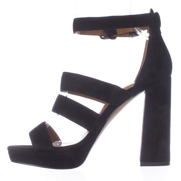 Coach Womens Marina Suede Open Toe Casual Strappy Sandals