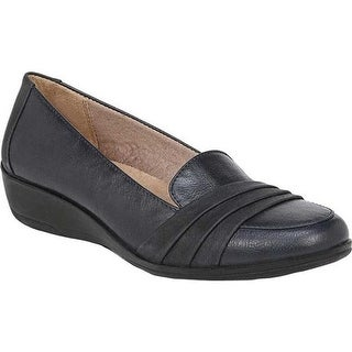 Life Stride Women's Imperia Loafer Navy Polyurethane