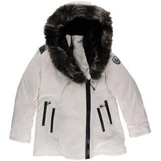 Arctic Expedition Womens Down Faux Fur Parka - L