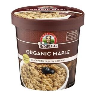 Dr. McDougall's - Organic Maple Oatmeal ( 6 - 2.5 oz cups)
