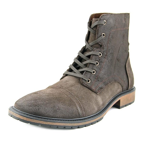 Marc New York By Andrew Marc Hester Men Round Toe Leather Brown Boot