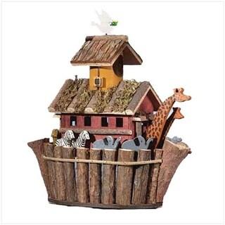Zingz & Thingz 57070128 Wood Noah Arks Birdhouse
