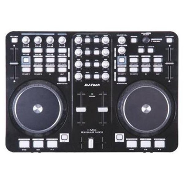 USB MIDI DJ Controller with Integrated Soundcard