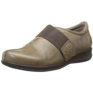 SoftWalk Womens Tanner Too Leather Slip On Casual Shoes