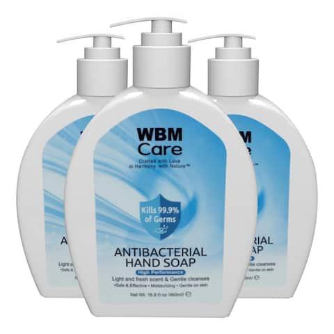 WBM Care Antibacterial Hand Soap, 16.8 oz