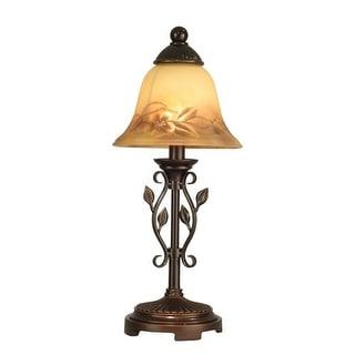 Dale Tiffany TA80540 Leaf Vine Handed Mini Lamp with 1 Light - antique golden sand