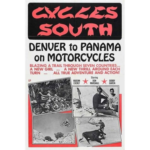 Pop Culture Graphics MOVIB25443 Cycles South Movie Poster, 11 x 17