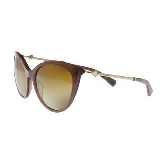 Bulgari BV8195KB 5431T5 Light Brown Cat Eye Sunglasses - no size