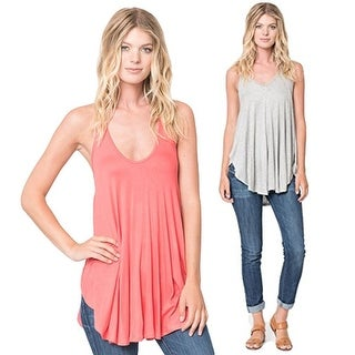 Womens Sleeveless Blouse Scoop Neck Summer Tank Tops