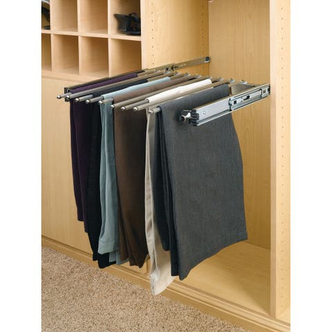 "Rev-A-Shelf PSC-1814 PSC Series 14"" Depth Pull Out Rack for 9 Pairs of Pants -"