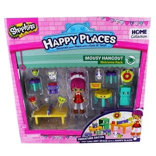 Shopkins Happy Places Welcome Pack: Mousy Hangout