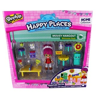 Shopkins Happy Places Welcome Pack: Mousy Hangout - multi