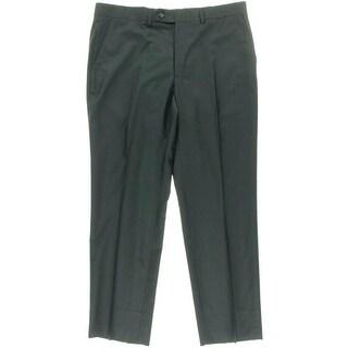 Nautica Mens Woven Flat Front Dress Pants