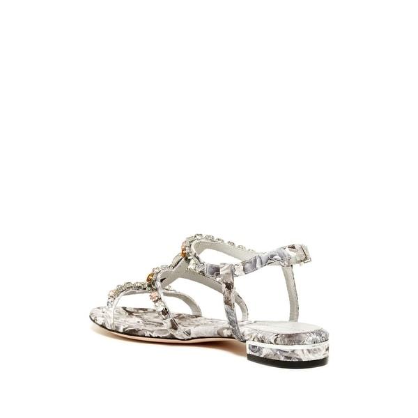 Carolinna Espinosa Womens SNIPER 2 Open Toe Casual T-Strap Sandals