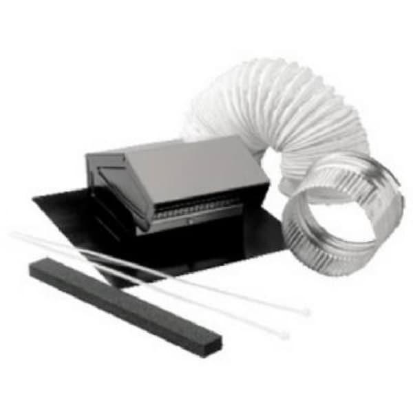 Shop Broan Rvk1a Roof Vent Kit 8 Of 4 Quot Flexible Aluminum