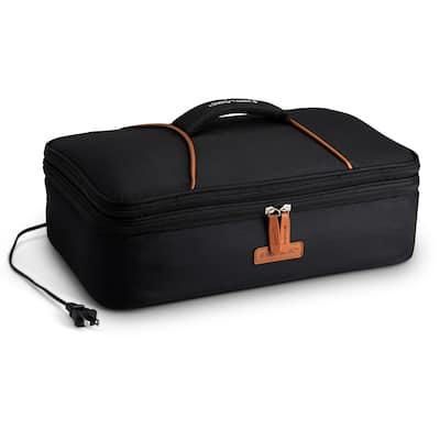 HOTLOGIC 16801170-BLK Portable Casserole Expandable Max Oven XP, Black