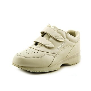 Propet Tour Walker Strap 2A Round Toe Leather Walking Shoe