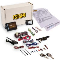 Complete  2 Way LCD Remote Start With Keyless Entry Kit For 2004-2008 Ford F-150 - Includes Bypass