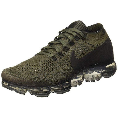 Nike Mens Air Vapormax Flyknit Fabric Low Top Lace Up Trail Running Shoes