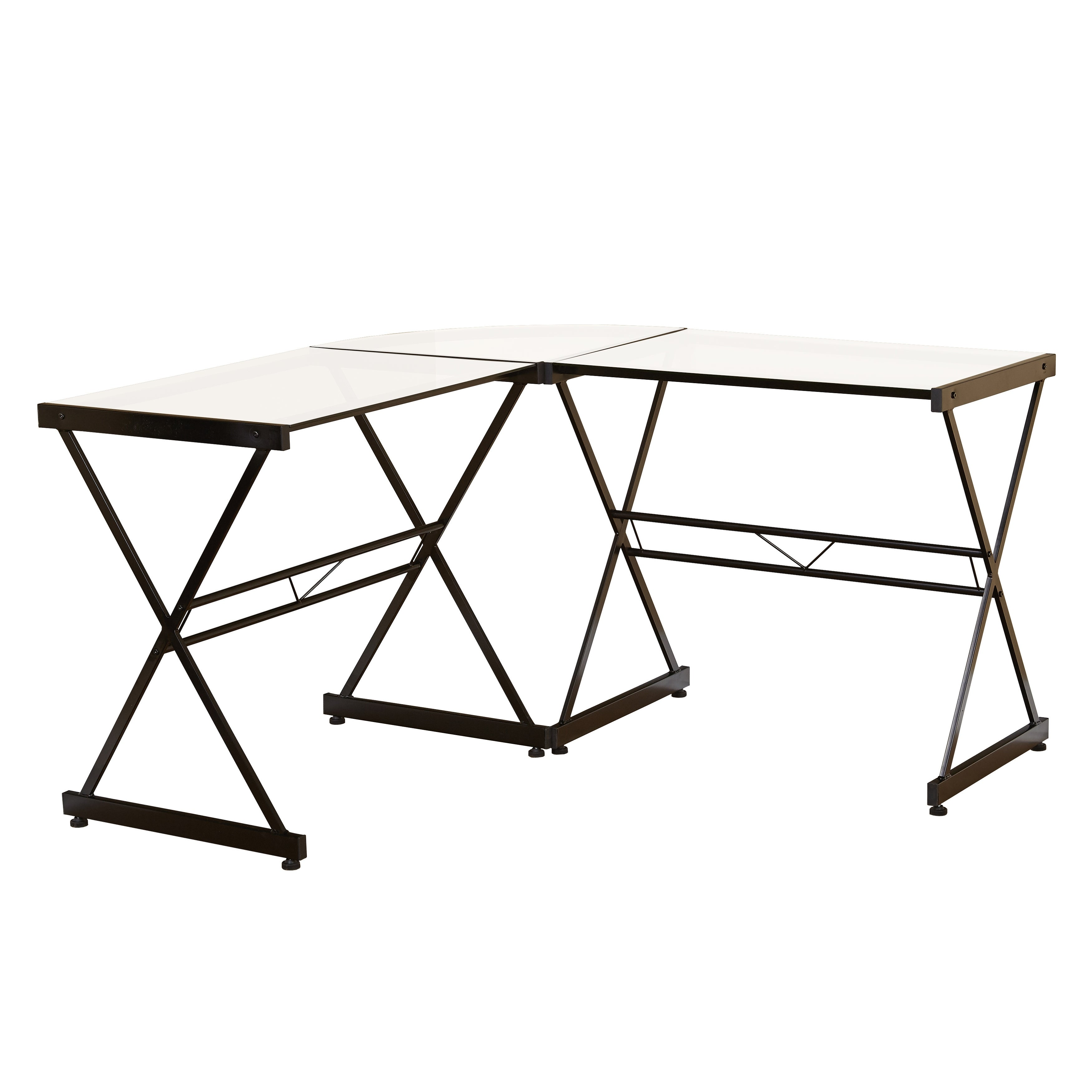 Simple Living Janae Glass Corner Desk Overstock 29420784