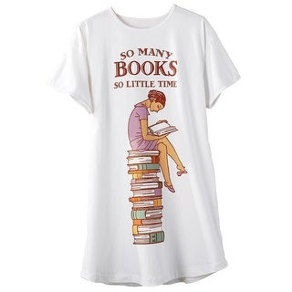 Women's So Many Books So Little Time Sleepshirt - One Size