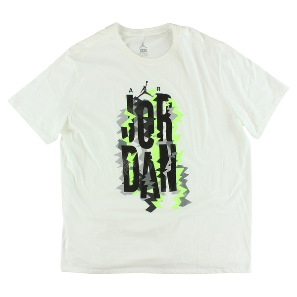 202f7693a097 Shop Jordan Mens Retro VII Vintage T Shirt White - Free Shipping On Orders  Over  45 - Overstock - 22614875