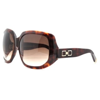 DSquared DQ 0020/S 52F Dark Havana Oversized Full Rim Sunglasses - 63-13-125