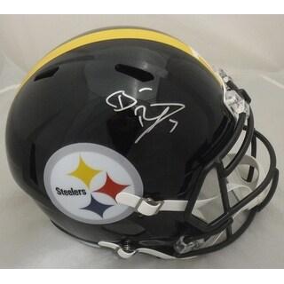 Ben Roethlisberger Autographed Pittsburgh Steelers Full Size Speed Replica Helmet JSA