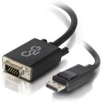C2g / Cables To Go 54331 Displayport Male To Vga Male Active Adapter Cable - Black (3 Feet)