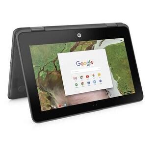 "HP Chromebook x360 11-AE020NR Celeron N3350 4GB 32GB 11.6"" Touchscreen Chrome OS (Certified Refurbished)"