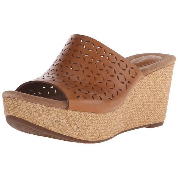 CLARKS Womens Caslynn Dylan Open Toe Casual Platform Sandals