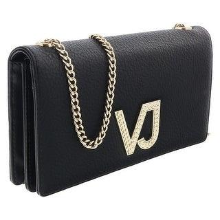 Versace EE3VRBPC3 Black Wallet on Chain - 7.5-4.5-1