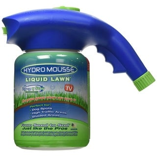 Hydro Mousse 15000-6 Liquid Lawn with Spray n' Stay Technology, As Seen On TV