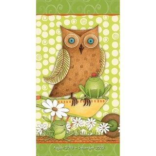 Owls Pocket Planner, More Folk Art by Sellers Publishing