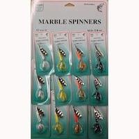 FJ Neil Marble Spinners 1/4oz Assortment