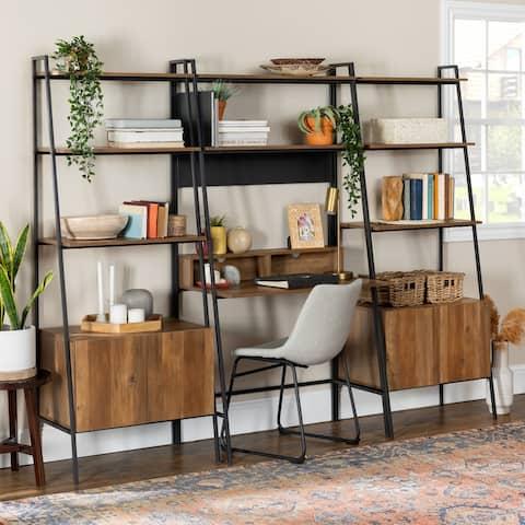 Carbon Loft Lahuri 3-Piece Desk and Storage Set