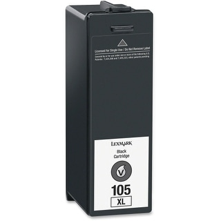 Lexmark 14N1180 Lexmark No. 105XL High Yield Return Program Ink Cartridge - Inkjet - 2 / Pack