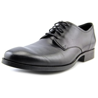 Cole Haan Copley Plain.Derby Round Toe Leather Oxford