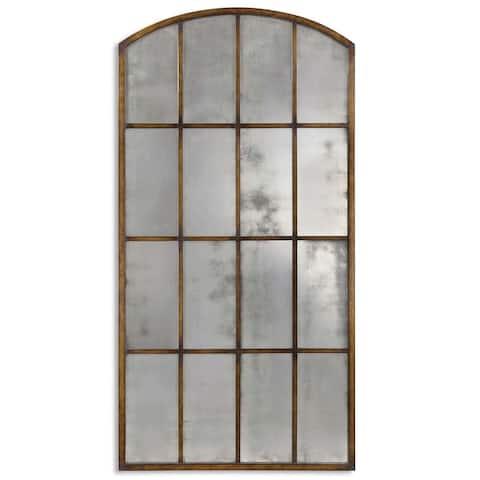 Uttermost Amiel Antique Large Arch Mirror
