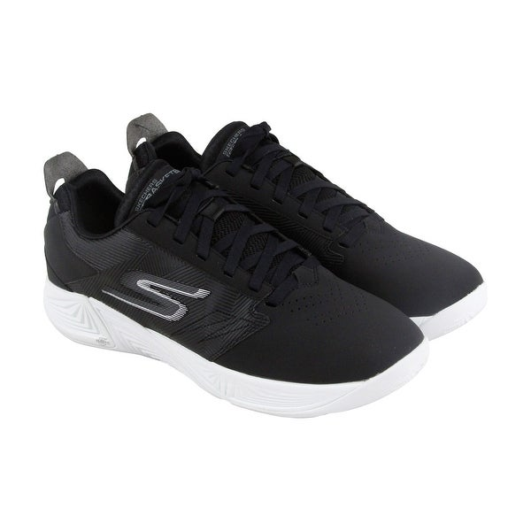 Skechers Gobasketball Torch 2 Mens Black Synthetic Athletic Training Shoes