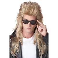California Costumes 80's Rock Mullet Costume Wig (Blonde) - Blonde