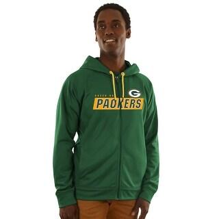 Green Bay Packers Game Elite Zip-up Hoodie