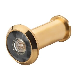 Baldwin BR7004 Brass Door Viewer with 170 Degree Field of Vision from the Reserve Collection - N/A