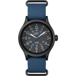 """""""Timex Expedition Scout Slip-Thru Watch - Blue Expedition Scout Slip Thru Watch"""""""