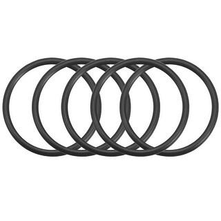 O-Rings Nitrile Rubber Gasket, 38mm Inner Diameter, 45mm OD, 3.5mm Width, 5pcs